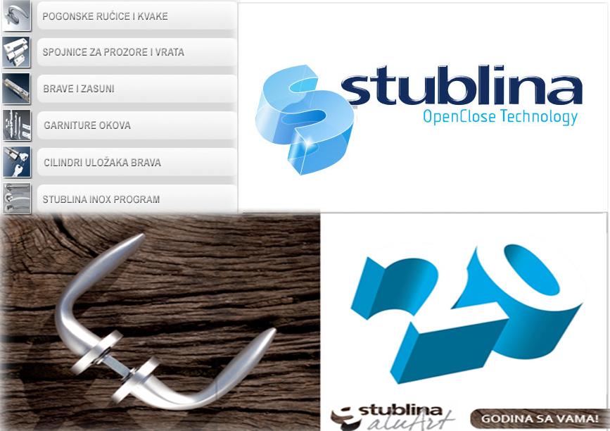 Европейская фурнитура Stublina (Сербия)